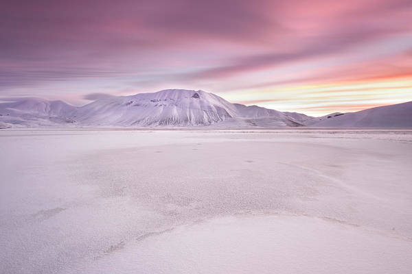 Pastel Photograph - Sibillini National Park - Sunrise by Roberto Marchegiani