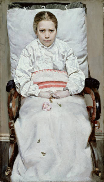 Patient Photograph - Sick Girl by Christian Krohg