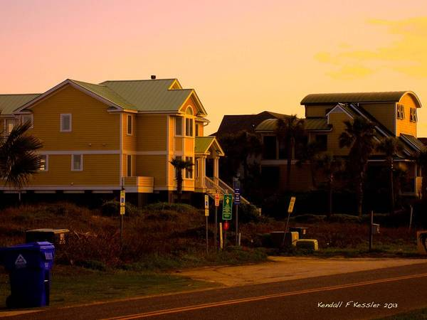 Photograph - Side By Side At Isle Of Palms by Kendall Kessler
