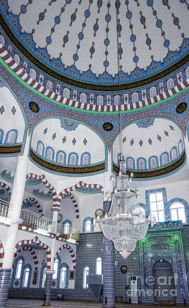 Turkiye Wall Art - Photograph - Side Fatith Mosque 07 by Antony McAulay