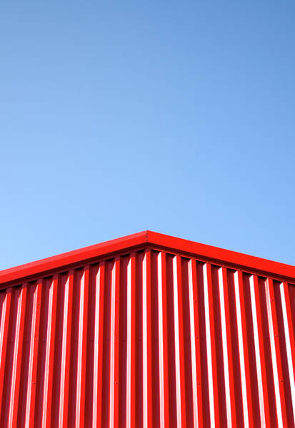Barn Photograph - Side Wall Of Red Barn by Pete Starman