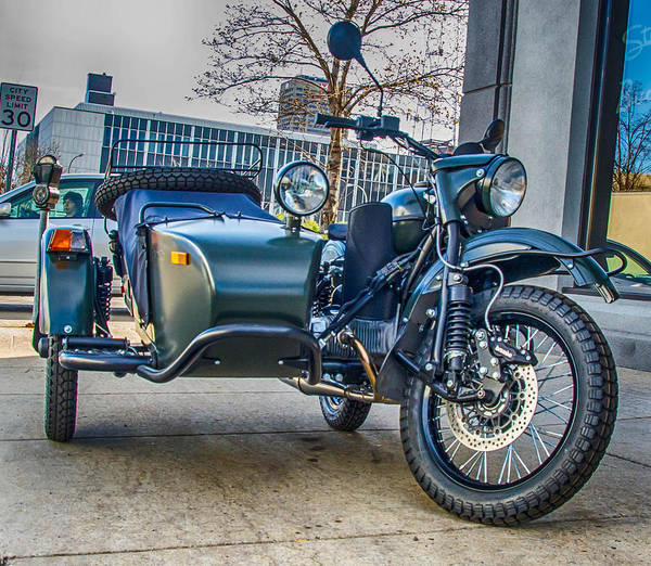 Photograph - Sidecar 1565 by Guy Whiteley