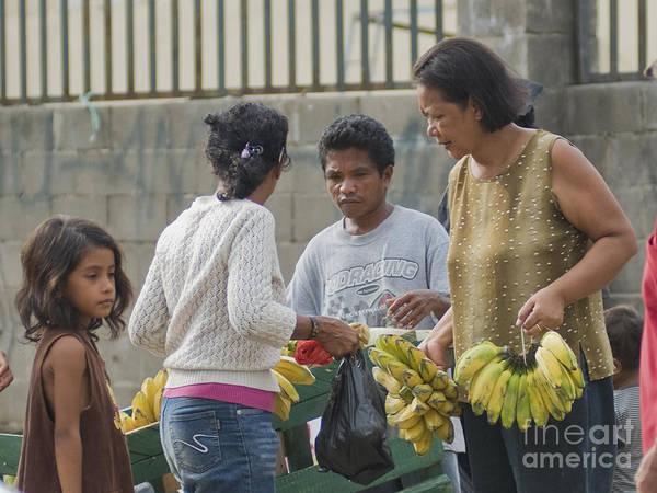 Photograph - Sidewalk Market In Timor-leste by Dan Suzio