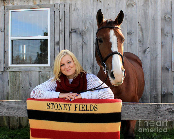 Photograph - Sidney Hannah 23 by Life With Horses