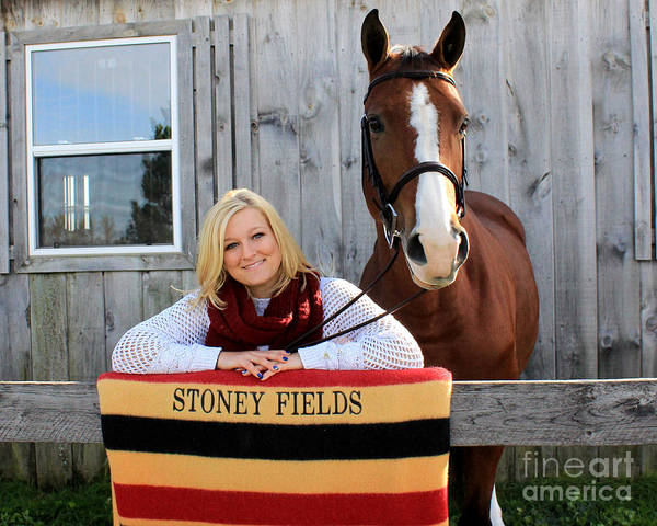 Photograph - Sidney Hannah 24 by Life With Horses