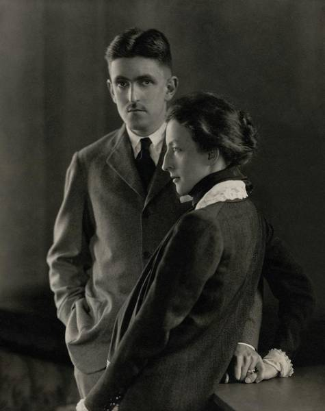 Male Photograph - Sidney Howard And Clare Eames by Edward Steichen