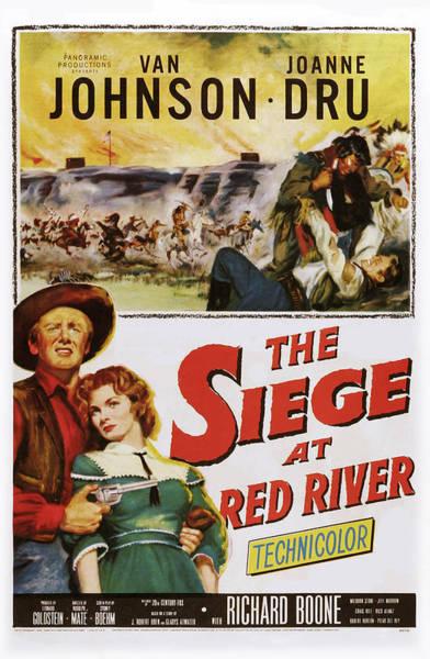 Van Johnson Photograph - Siege At Red River, Bottom L-r Van by Everett