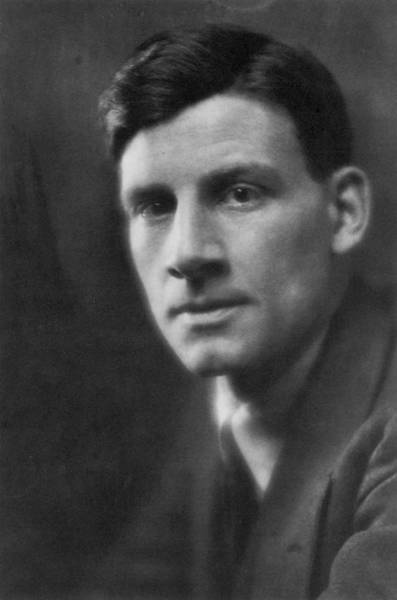 Photograph - Siegfried Sassoon (1886-1967) by Granger