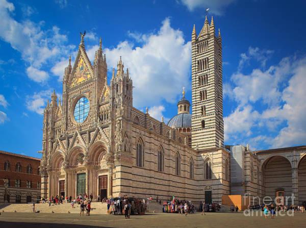 Duomo Photograph - Siena Duomo by Inge Johnsson