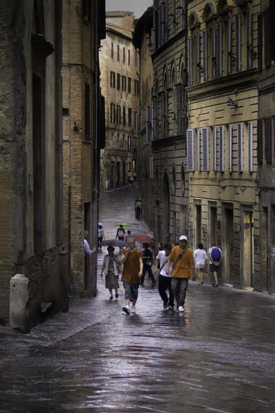 Photograph - Siena Rain by Curtis Dale