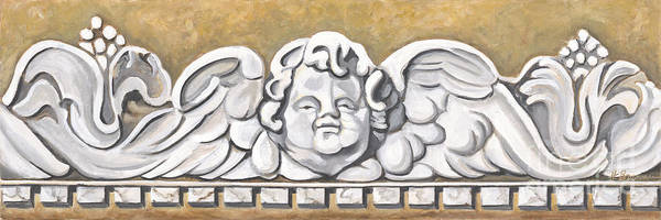 Holly Brannan Wall Art - Painting - Sienna Angel by Holly Bartlett Brannan