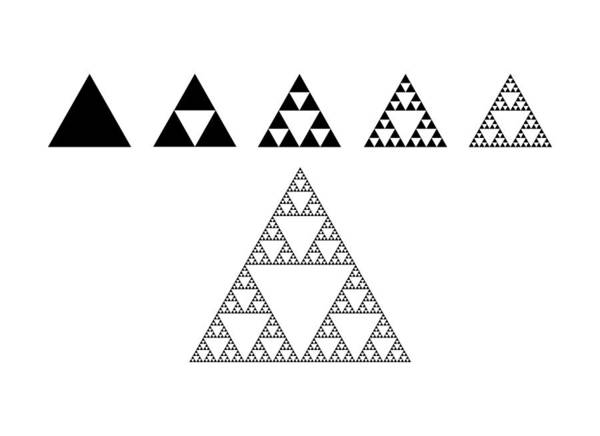 Recursion Wall Art - Photograph - Sierpinski Triangle by Science Photo Library
