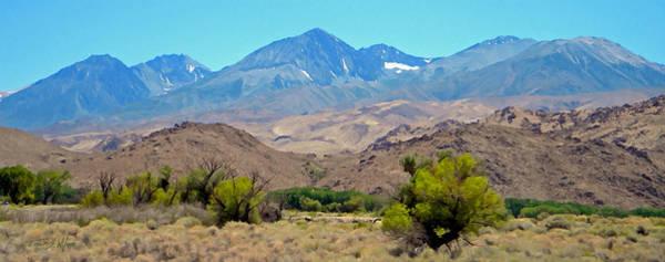 Photograph - Sierra Nevada Peaks by Frank Wilson