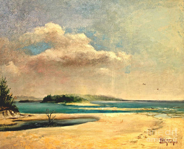 Painting - Siesta Keys Florida by Art By Tolpo Collection
