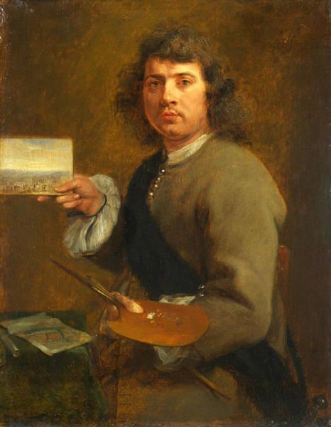 Gonzales Wall Art - Painting - Sight. Portrait Of Robert Van Den Hoecke by Gonzales Coques