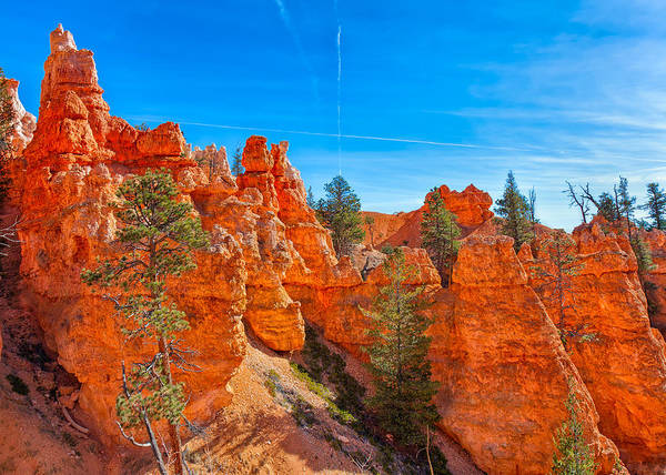 Photograph - Sign Above Bryce by John M Bailey