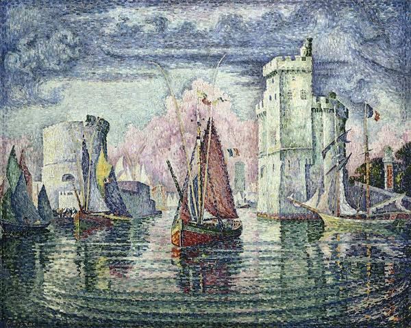 Post-impressionism Photograph - Signac, Paul 1863-1935. The Port At La by Everett