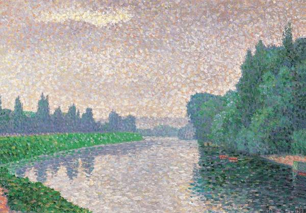 Post-impressionism Photograph - Signac Paul, Banks Of The River, 19th by Everett