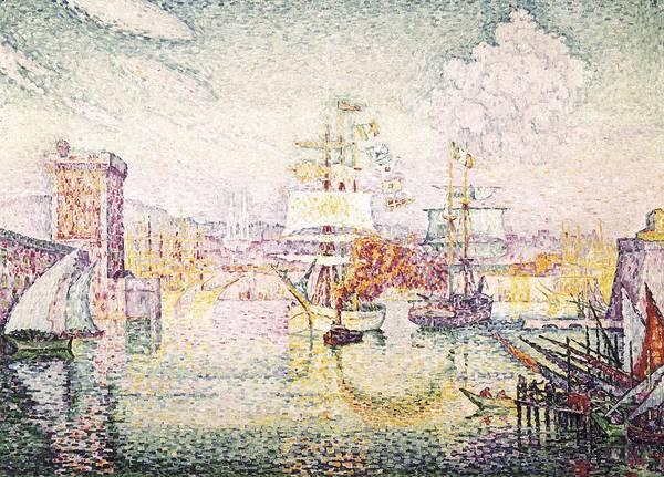 Post-impressionism Photograph - Signacpaul 1863-1935. Entrance by Everett