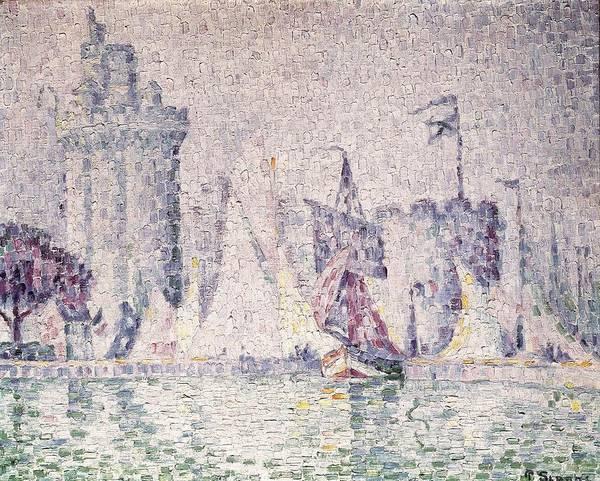 Post-impressionism Photograph - Signacpaul 1863-1935. Port Of La by Everett