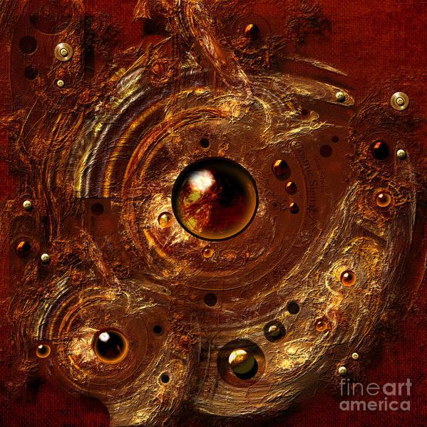 Digital Art - Signal From Cosmos by Alexa Szlavics