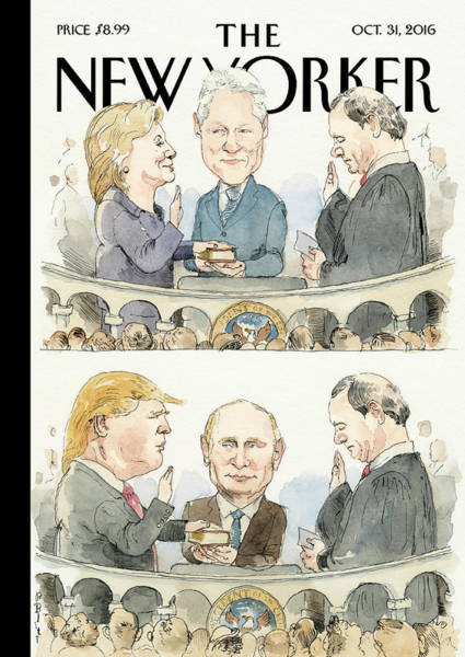 Election 2016 Painting - Significant Others by Barry Blitt