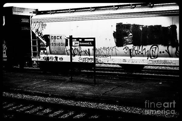 Photograph - Signs Monochrome by Frank J Casella