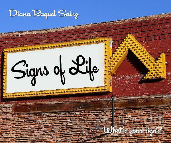 Photograph - Signs Of Life Book By Diana Raquel Sainz by Diana Raquel Sainz