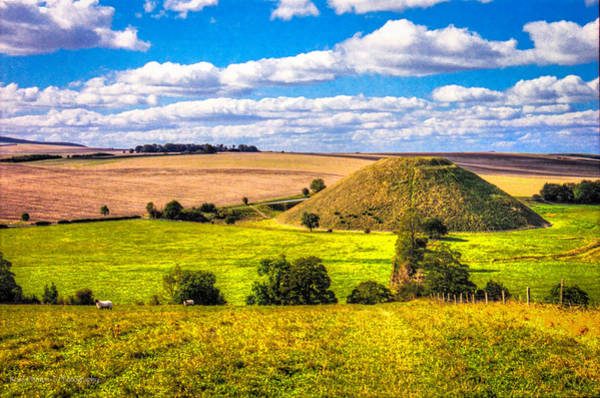 Photograph - Silbury And Sheep by Ross Henton