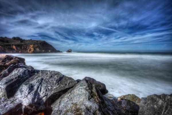 Rockaway Photograph - Silence - Rockaway Beach Pacifica California  by Jennifer Rondinelli Reilly - Fine Art Photography