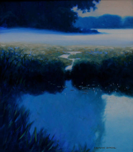 Wall Art - Painting - Silence by Kevin Lawrence Leveque
