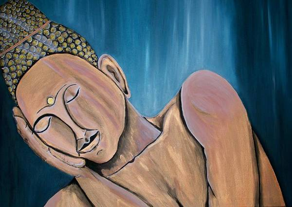 Wall Art - Painting - Silence by Mamu Art