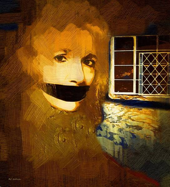 Painting - Silenced by RC DeWinter