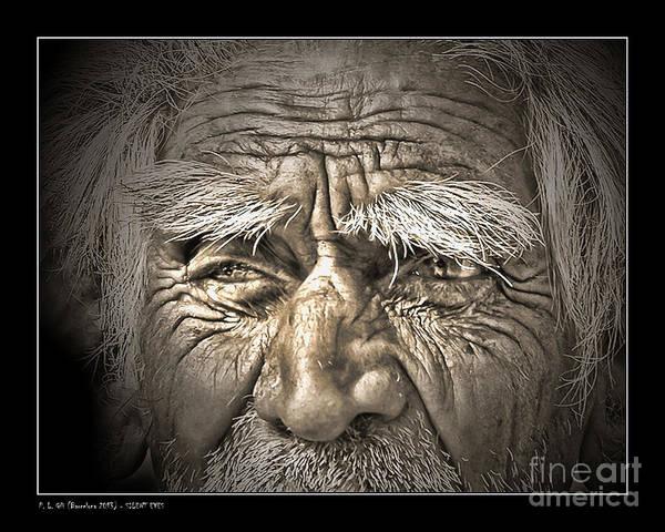 Anguish Photograph - Silent Eyes by Pedro L Gili