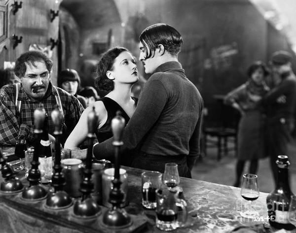 Photograph - Silent Film: Paris, 1926 by Granger