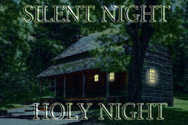 Painting - Season - Greeting - Silent Night-holy Night by Barry Jones