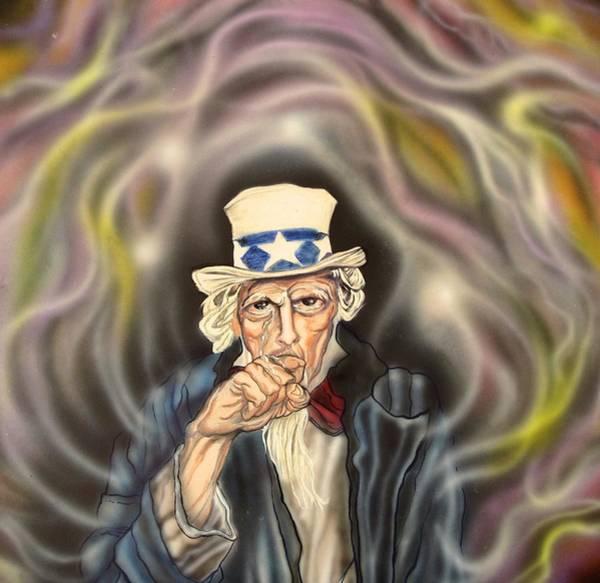 Progressive Rock Painting - Silent Sam by Sam Del Russi