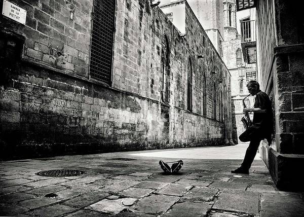 Street Photograph - Silent Street by Gertjan Van Geerenstein
