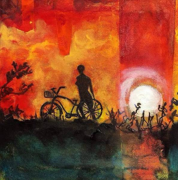 Painting - Silhouette by Dilip Sheth