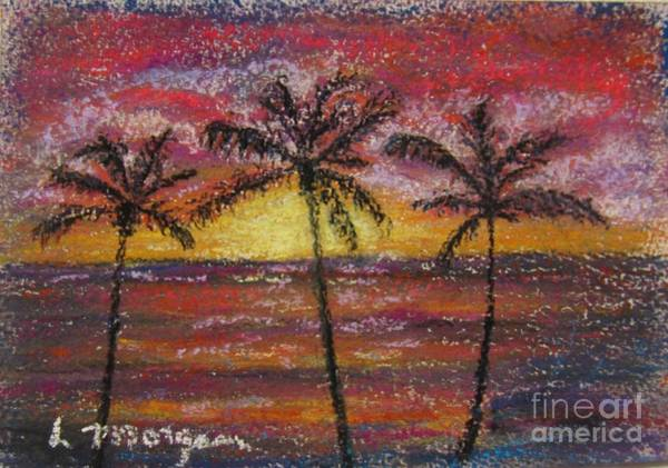 Painting - Island Silhouette  by Laurie Morgan