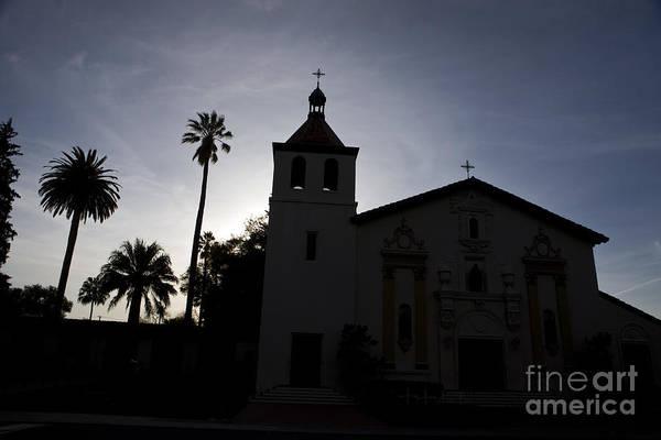 Wall Art - Photograph - Silhouette Of Mission Santa Clara by Jason O Watson