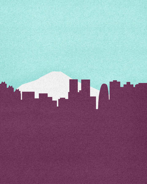 Red Sky Digital Art - Silhouette Of Mount Fuji And Tokyo by Marcus Butt