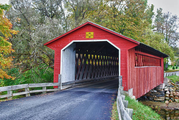 Photograph - Silk Bridge 8258 by Guy Whiteley
