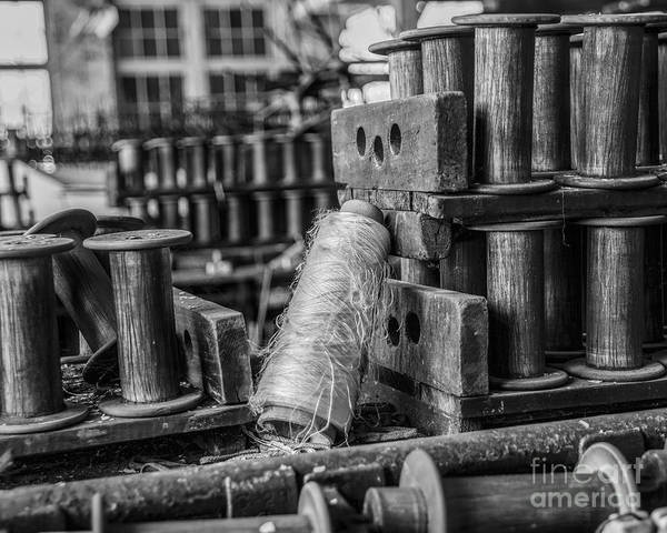 Photograph - Silk Factory Still Life by Terry Rowe