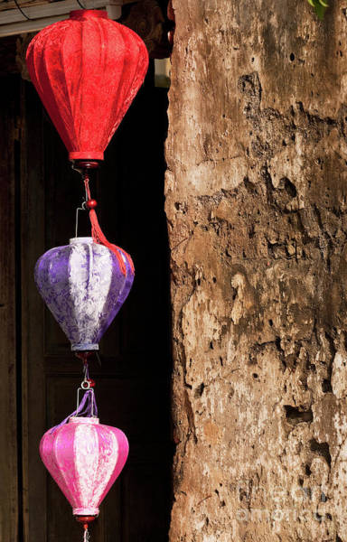 Hoi An Photograph - Silk Lanterns 01 by Rick Piper Photography