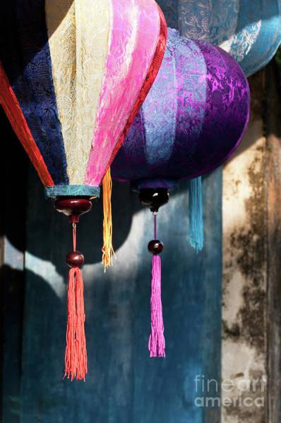 Hoi An Photograph - Silk Lanterns 02 by Rick Piper Photography