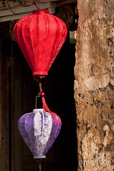 Hoi An Photograph - Silk Lanterns 03 by Rick Piper Photography