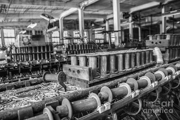 Textile Mill Photograph - Silk Mill Floor by Terry Rowe