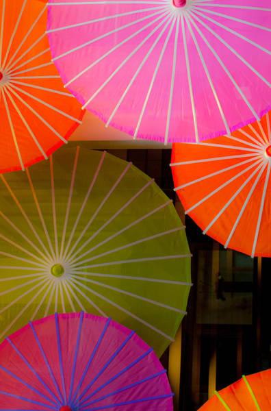Hakon Photograph - Silk Parasols by Hakon Soreide