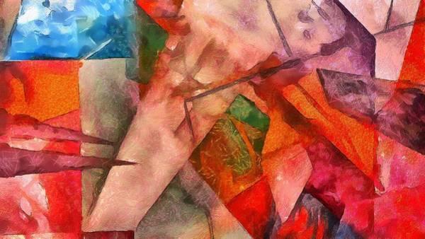 Digital Art - Silky Abstract by Catherine Lott